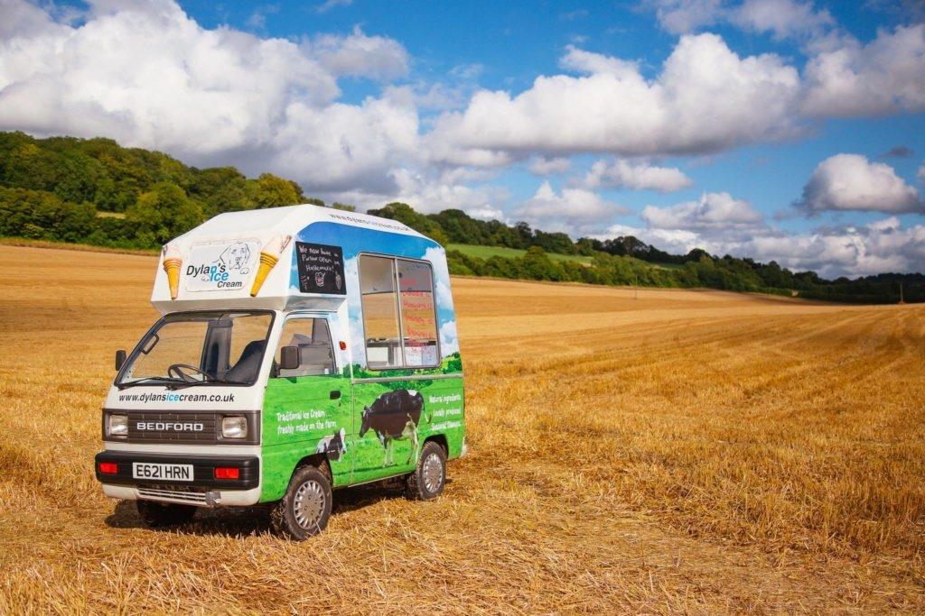 Dylans Ice Cream Van Lodsworth Fete