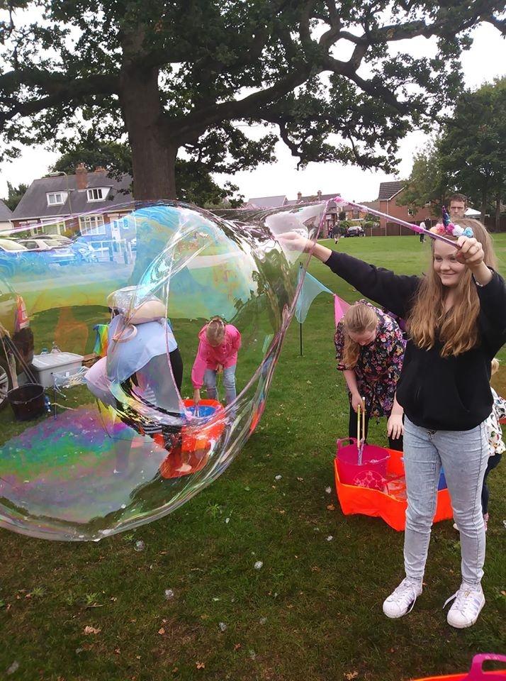 Enchanted Bubbles
