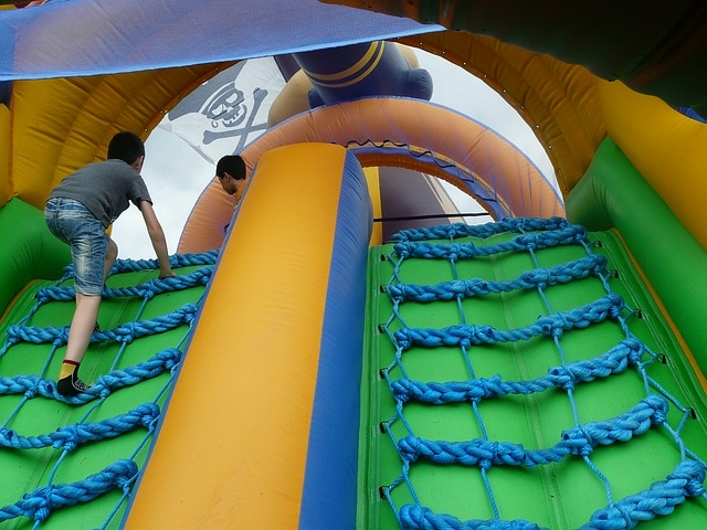 Lodsworth Fete Bouncy Castle